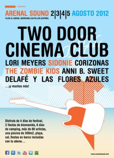 Arenal Sound 2012 – Primeras confirmaciones