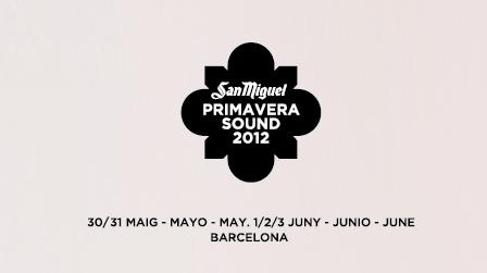 Nuevas confirmaciones del San Miguel Primavera Sound 2012