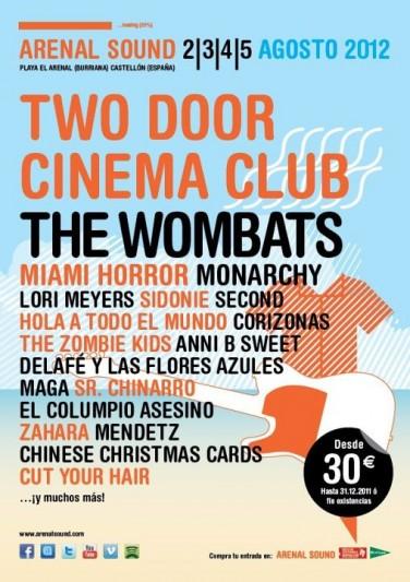 Nuevas confirmaciones para el Arenal Sound 2012