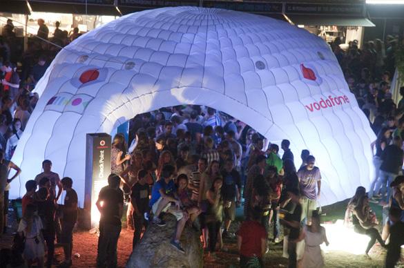 El BBK Live 2012 anuncia 18 bandas y DJ's para la carpa Vodafone