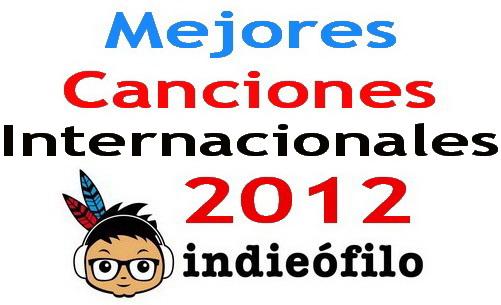 Las mejores canciones internacionales de 2012