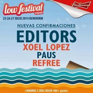 Nuevos nombres para el Low Festival 2014