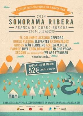 We Are Standard o Grises, entre los nuevos confirmados para el Sonorama 2014