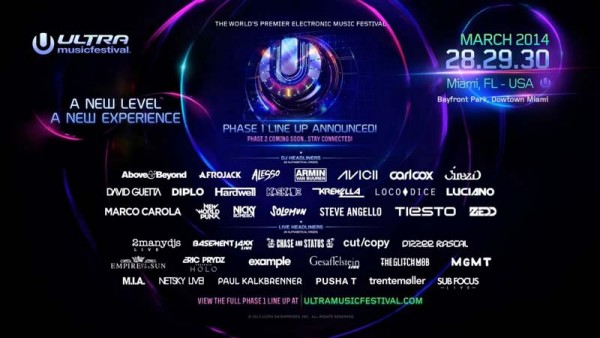 Enjoy the biggest electronic music festival in the world, Ultra Music Festival, on streaming