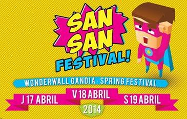 Enjoy live San San Festival 2014 with Indieófilo