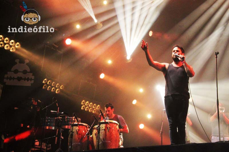 Lowlands Festival 2014 - The Cat Empire (5)