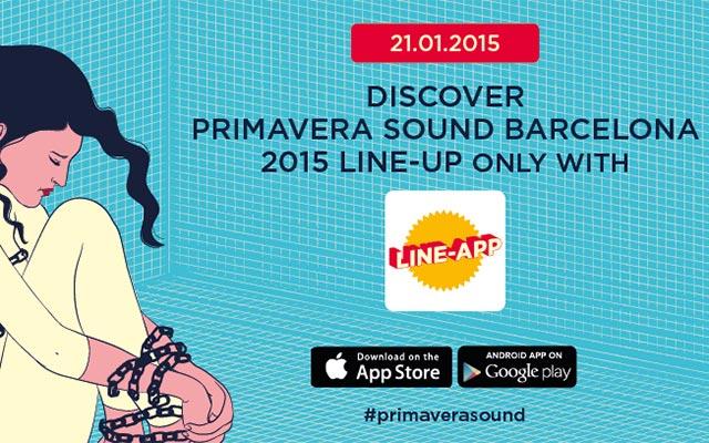 line app primavera sound