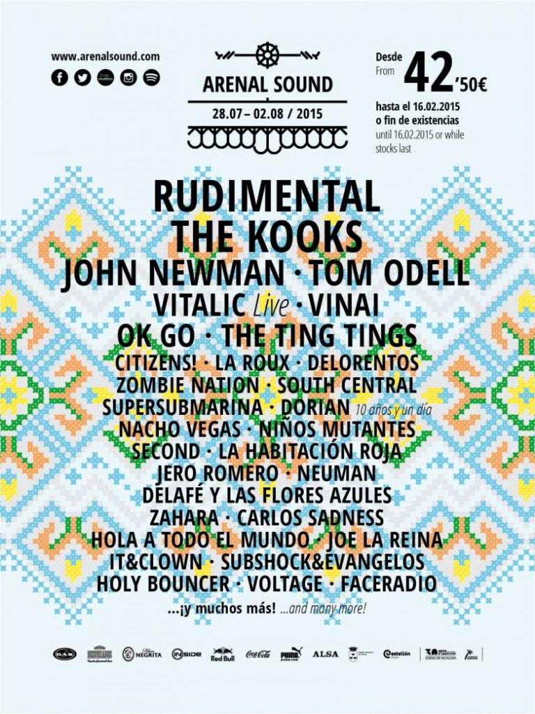 Arenal Sound 2015 Rudimental