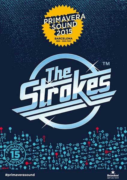 The Strokes, primer nombre del Primavera Sound 2015