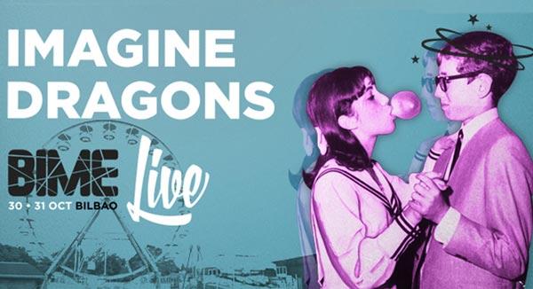 Imagine Dragons, primer gran grupo para el Bime Live 2015
