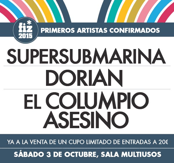 cartel FIZ 2015 Supersubmarina Dorian