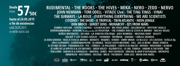 El Arenal Sound confirma a The Hives o Is Tropical