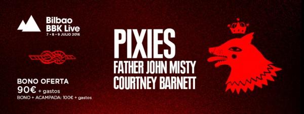 Pixies, confirmados para el Bilbao BBK LIve 2016