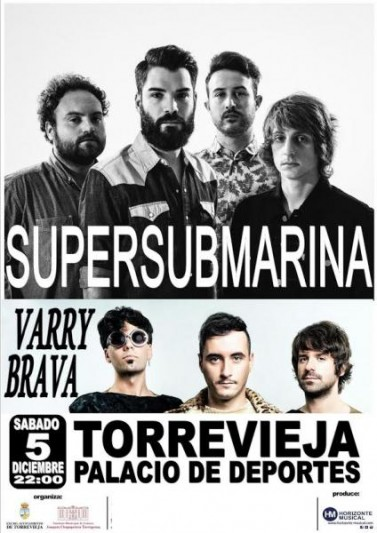 Supersubmarina y Varry Brava en Torrevieja