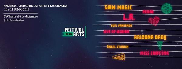 Mas nombres para el Festival de les Arts 2016