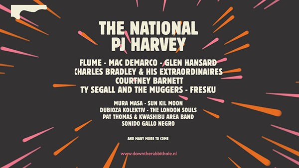 PJ Harvey, among the names confirmed for Down The Rabbit Hole 2016