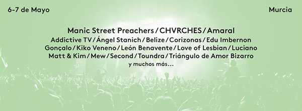 Manic Street Preachers al SOS 4.8 2016
