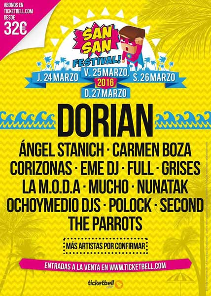 sansan Festival 2016 - Dorian