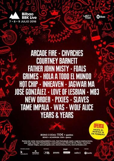 Chvrches y Grimes, nuevas confirmaciones del Bilbao BBK LIve 2016