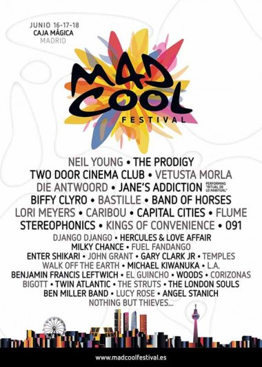 Die Antwoord o Biffy Clyro, al Mad Cool Festival 2016