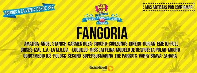 Fangoria, último cabeza de cartel del SanSan Festival 2016