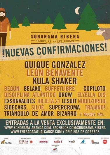 19 nuevas bandas para el Sonorama 2016