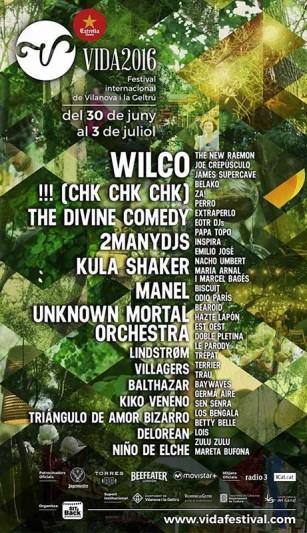 Vida Festival 2016 cierra su cartel con increíbles nombres