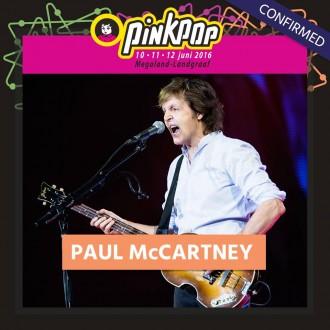pinkpop 2016 - Paul McCartney