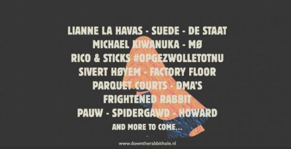 Suede o MØ, entre los nuevos nombres para el Down The Rabbit Hole 2016