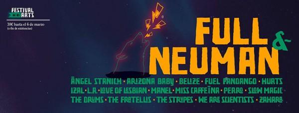 Neuman y Full, al Festival de Les Arts 2016