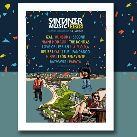 Cinco nuevos nombres para el Santander Music festival 2016