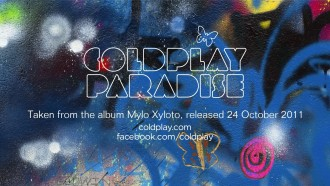 Paradise, nuevo single de ColdPlay