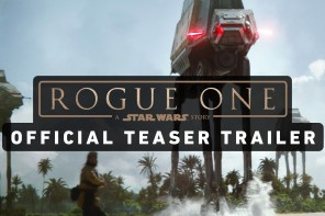 First trailer of Rogue One: A Star Wars Story