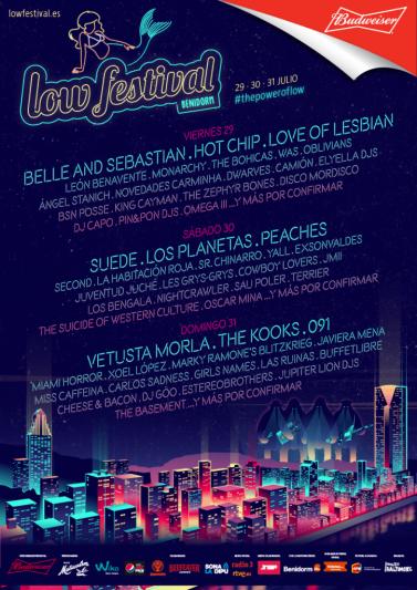 Low Festival presenta su cartel por días
