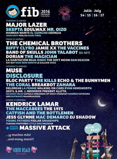 Band of Skulls confirmed for FIB 2016