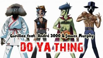 """Escucha """"DoYaThing"""", la colaboración entre Gorillaz, Andre 3000 y James Murphy"""