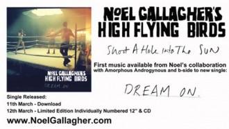 Noel Gallagher nos presenta el primer adelanto de su LP colaboración con Amorphous Androgynous