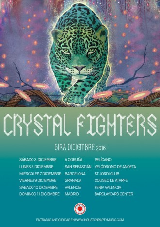 Gira Crystal Fighters 2016
