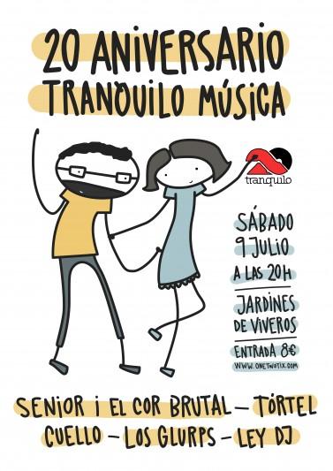 20 Aniversario Tranquilo Musica