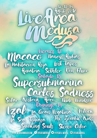 Medusa Sunbeach Festival 2016 y su propuesta Indie