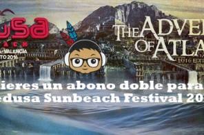 Sorteo 2 abonos dobles para Medusa Sunbeach festival 2016