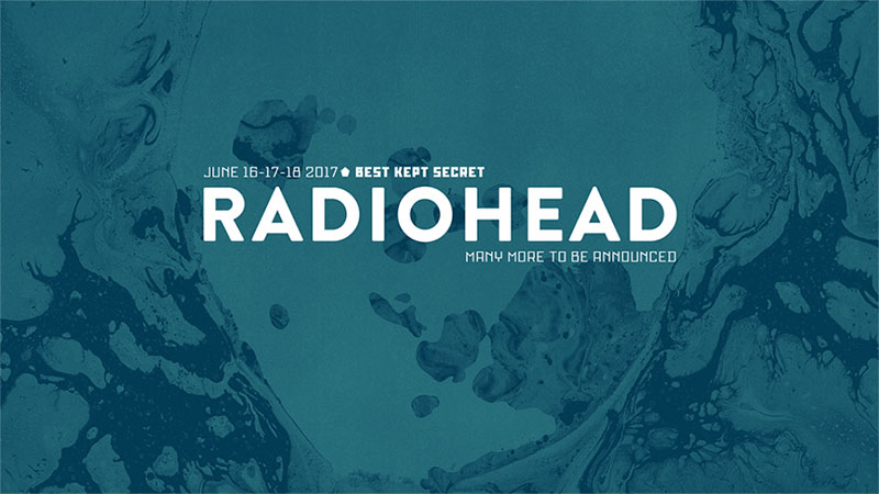 Radiohead will headline Best Kept Secret Festival 2017