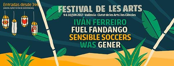 Primeros nombres para el Festival de les Arts 2017