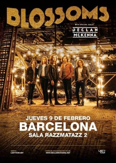 Blossoms anuncian concierto en Barcelona en febrero de 2017