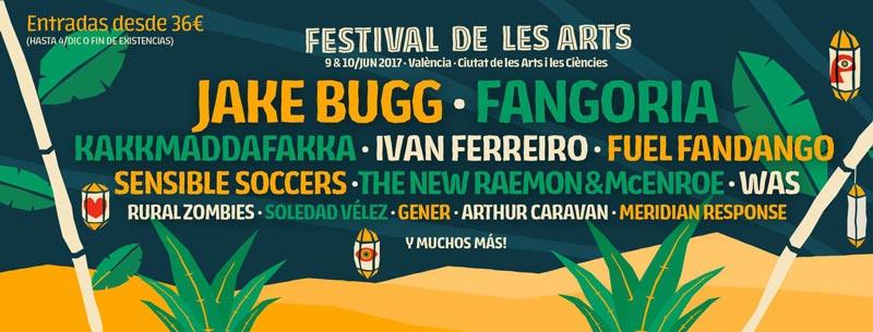 Cuatro nuevos nombres para el Festival de les Arts 2017