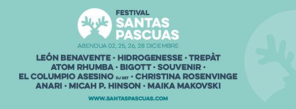 Nuevo festival en Pamplona: Festival Santaspascuas