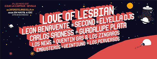 Love of Lesbian, al Festival Interestelar Sevilla 2017