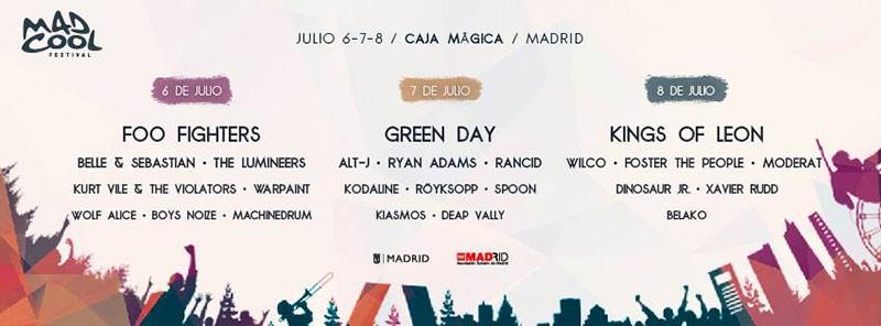 Mad Cool Festival 2017 sigue sumando grandes nombres