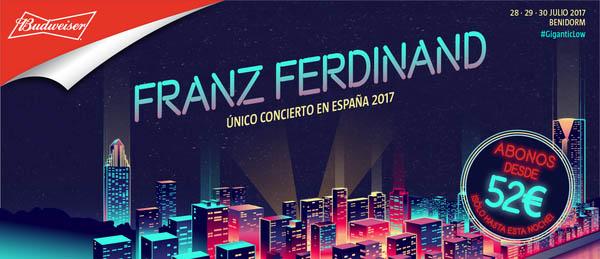 Franz Ferdinand, al Low Festival 2017