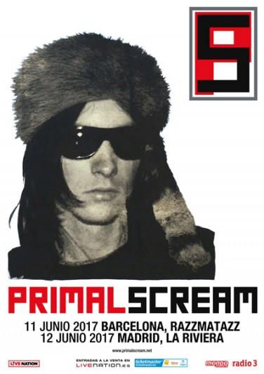 Primal Scream en Madrid y Barcelona en junio de 2017